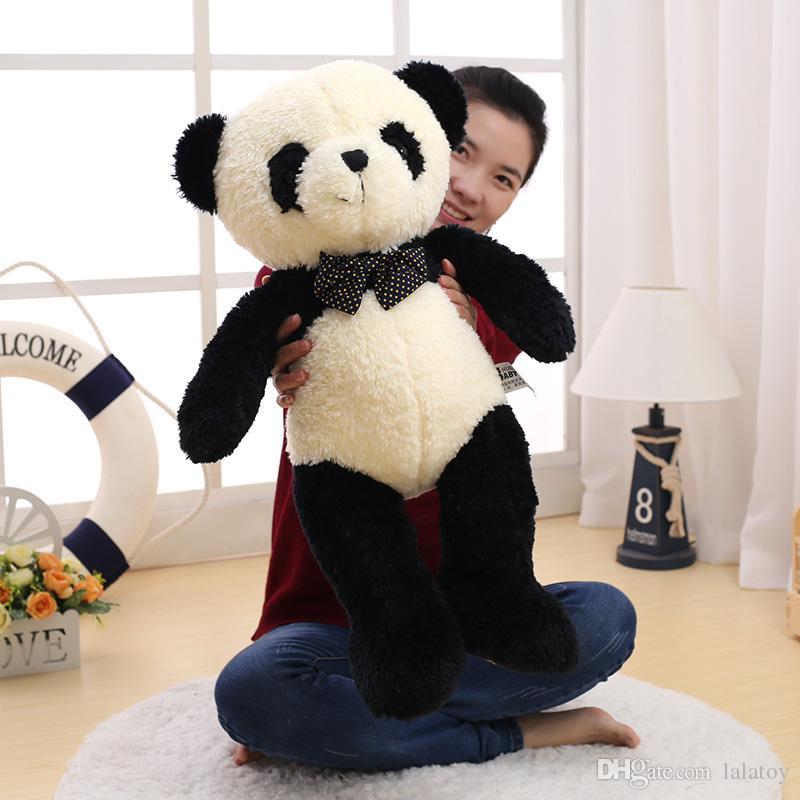 Cute Stuffed Animal Panda Plush Toy Doll Soft Pillow For Kids Girls Gift Stuffed & Plush Animals