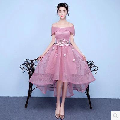 5ec9ca0f1e New Real Pictures Hi-Lo Special Occasion Dresses Prom Dress Short ...