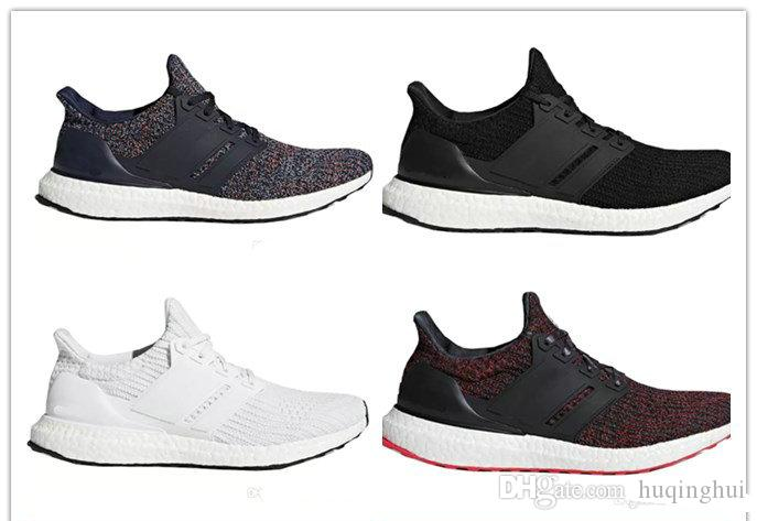 97bd32e44 Ultra Boost 4.0 Running Shoes Show Your Stripes Breast Cancer Awareness CNY  Black Multi Color Men Womens Real Boost Sneakers Size 36 46 NZ 2019 From ...