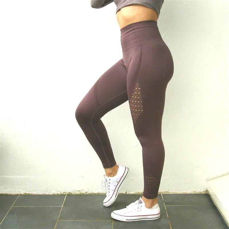 8ce2afd703 Nepoagym Women Energy Seamless Tummy Control Yoga Pants Super Stretchy Gym  Tights High Waist Sport Leggings Running Pants Online with  20.45 Piece on  ...