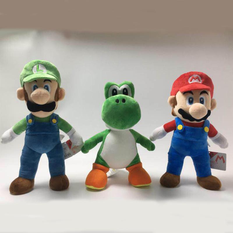 Compre Nuevo 33 40cm Super Mario Stuffed Toy Mario Bros Peluches