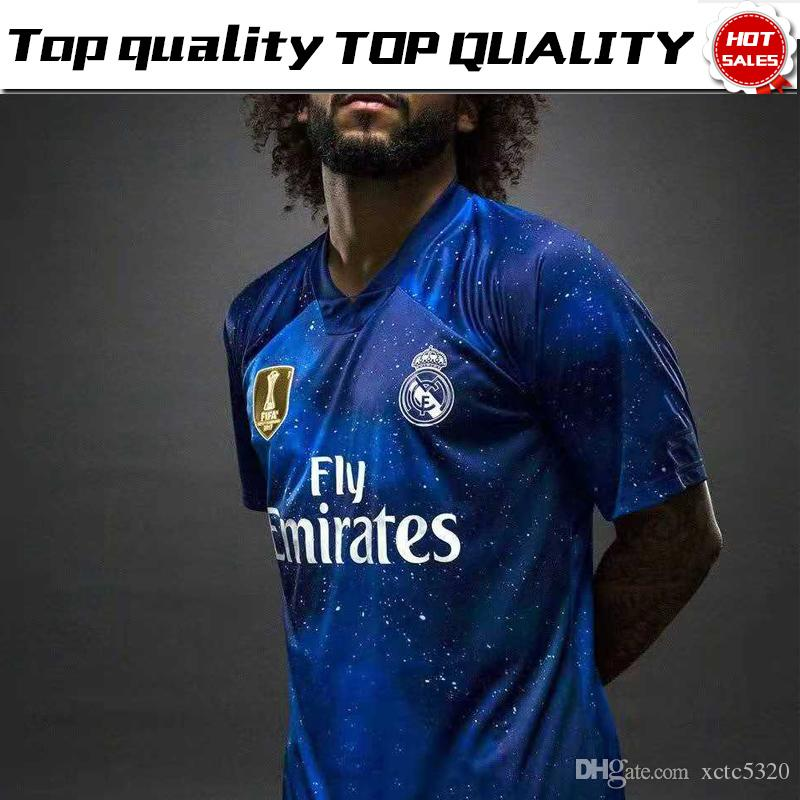 2018 2019 Real Madrid Limited Edition Soccer Jersey Blue Ea Sports 77f5c6e24