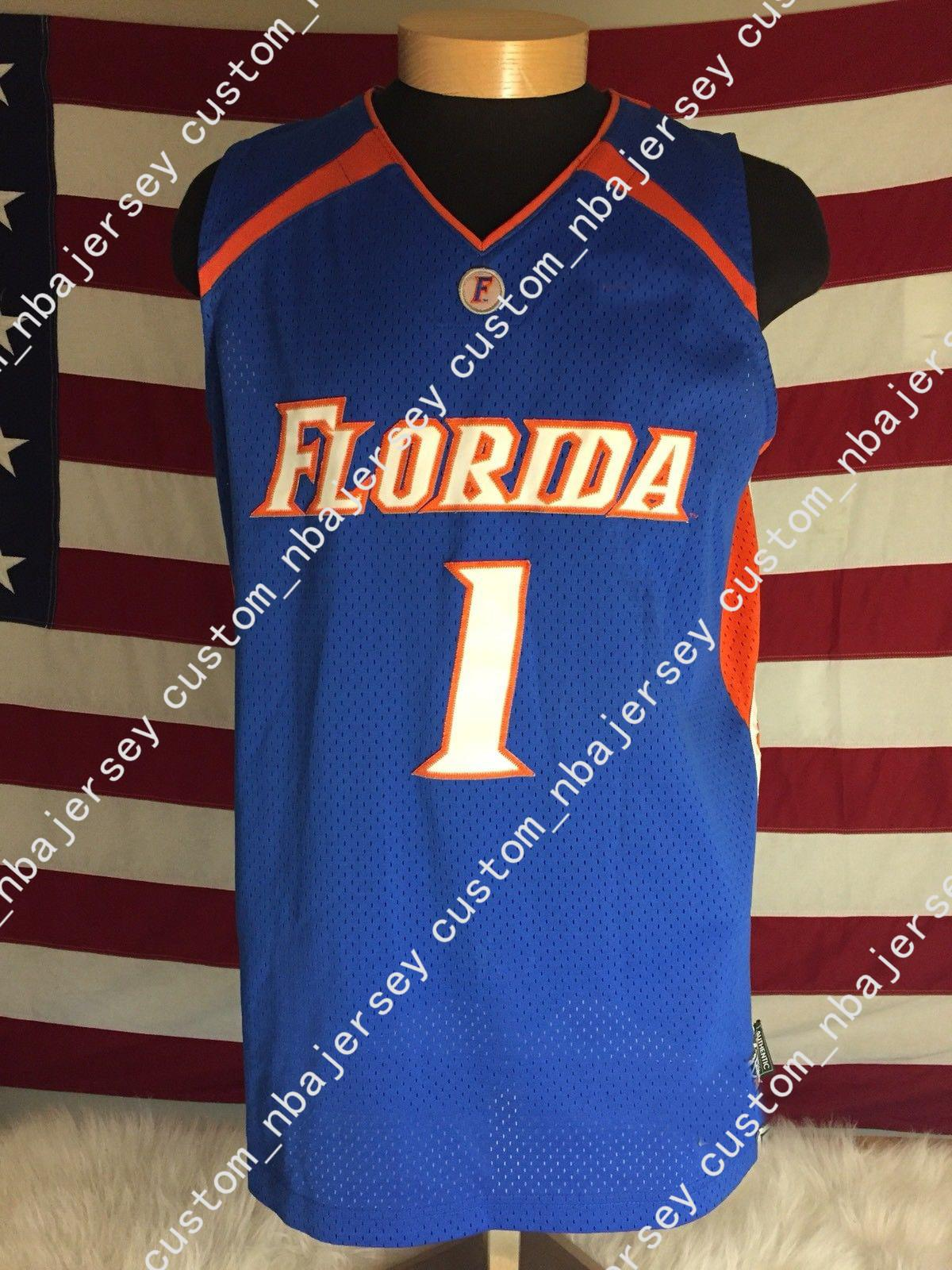 687225d92 2019 Cheap Custom Florida Gators Blue Orange Basketball Jersey #1 Stitched  Customize Any Number Name MEN WOMEN YOUTH XS 5XL From Custom_nbajersey, ...