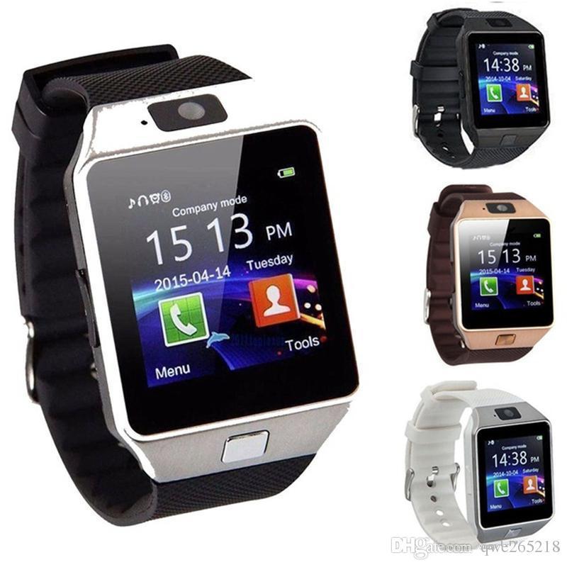2552488bf Celulares Tactiles Baratos DZ09 Reloj Inteligente Inalámbrico Relojes Dz09 Reloj  Android Reloj SIM Inteligente Teléfono Móvil Inteligente Estado Del Sueño  ...