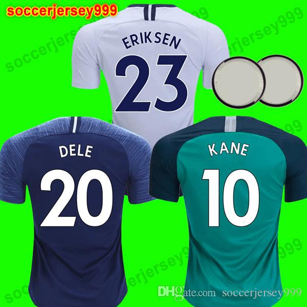 5c55294eb 2019 Thailand KANE Soccer Jersey 2018 2019 LAMELA ERIKSEN DELE SON DIER Spurs  Jerseys 18 19 Football Shirt Uniforms Maillot De Foot Away Third From ...