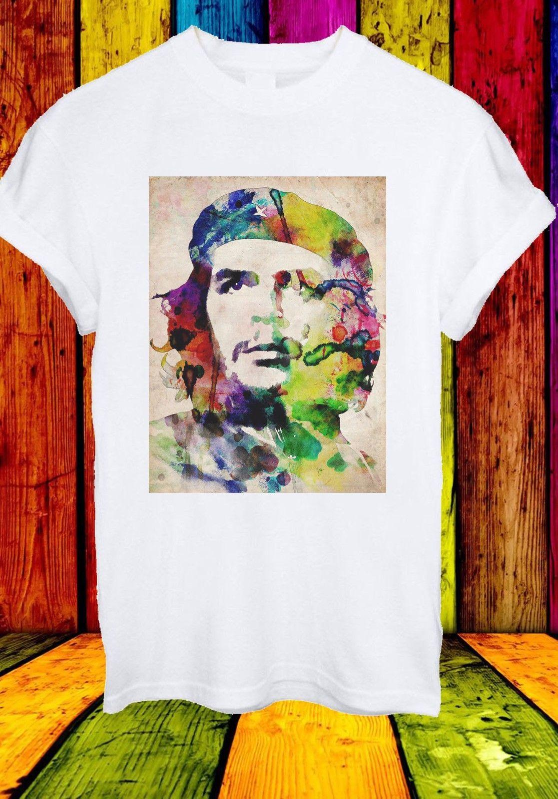 Ernesto Che Guevara Rebel Cuban Revolution Leader Men Women Unisex T-shirt 654 Short Sleeve Plus Size t-shirt