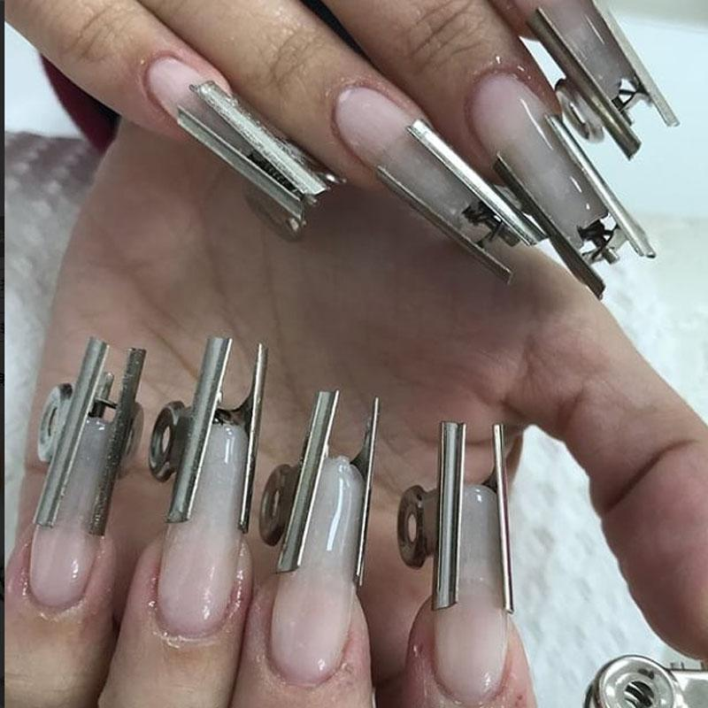 Russian C Curve Nail Pinching Tool Stainless Steel Acrylic Nail ...
