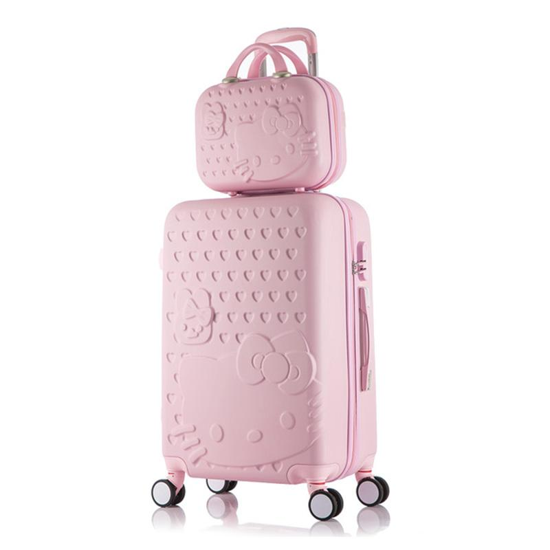0112981226e5 Travel suitcase set Rolling Luggage set Spinner trolley case 20
