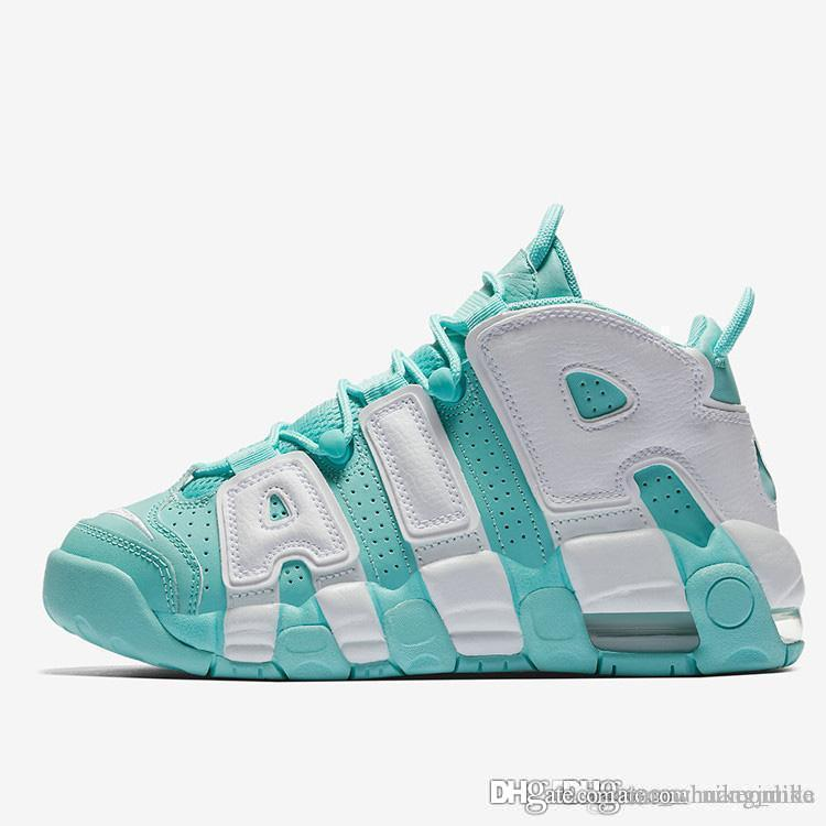 Cheap Womens Air More Uptempo 96 Shoes Bulls Hot Punch Island Green Olympic  Bred Dark Stucco Chicago Gym Red Boys Girls Basketball Sneakers UK 2019  From ... 309c8db935