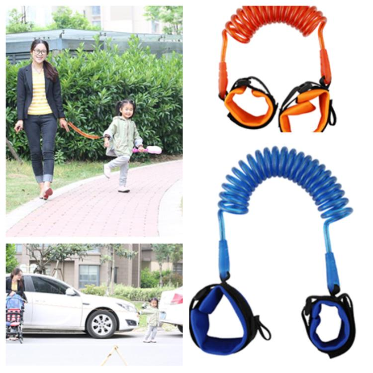 Children Anti Lost Strap 1.5M Kids Safety Wristband Wrist Baby Walking Wings Leash Strap Bracelet Baby Wrist Leash Walking Strap T2G5037