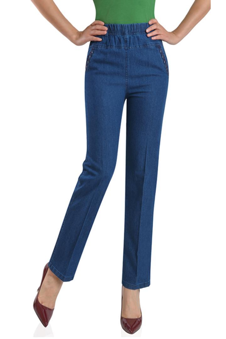 9e4a3f058c3986 2019 Sexy Women'S High Waist Jeans Stretch Pencil Denim Pants Female Slim  Skinny Trousers Calca Jeans Femme K64 From Meizuang, $23.45 | DHgate.Com
