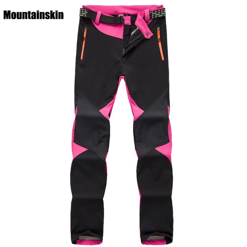 Acheter Pantalon En Laine D hiver Pour Femmes Softshell Thermal Sports De Plein  Air Marque Vêtements Randonnée Trekking Ski Camping Pantalon Femme VA095 De  ... dc84f922dcd