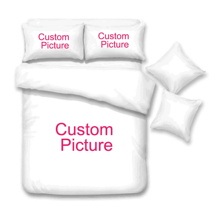 B * Customize Dropshipping 3D Conjuntos de Cama Impresso Capa de Edredão Set Queen King Twin Size