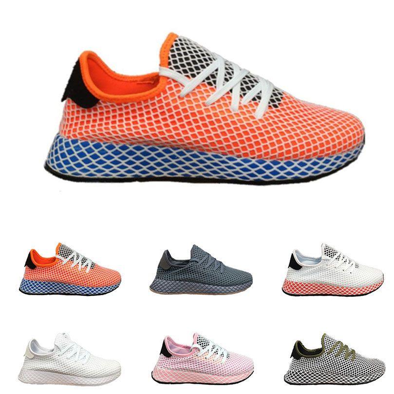 the latest 7842c 7c642 Acheter Deerupt Runner Pharrell Williams 3 Chaussures De Course Hommes  Femmes Stan Smith Tennis Baskets Chaussures De Sport Chaussures Formateurs  Zapatos De ...