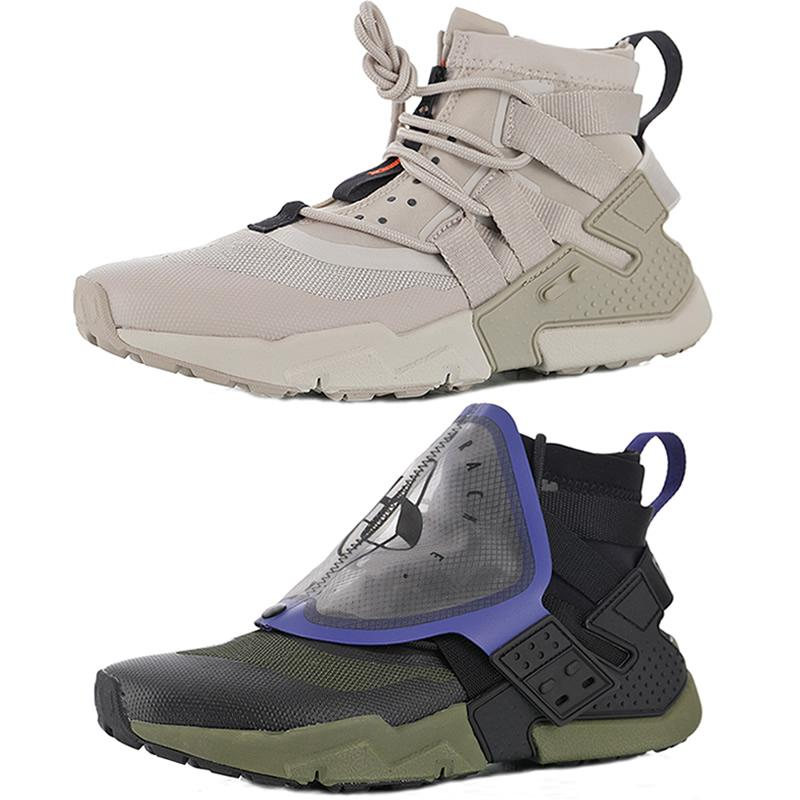 2019 New Huarache Gripp Sail QS Olive Army Green Black Purple Huaraches  Running Shoes Mens Trainers X Acronym Sports Sneakers Size 38.5 45 Discount  Running ... acdfe262c