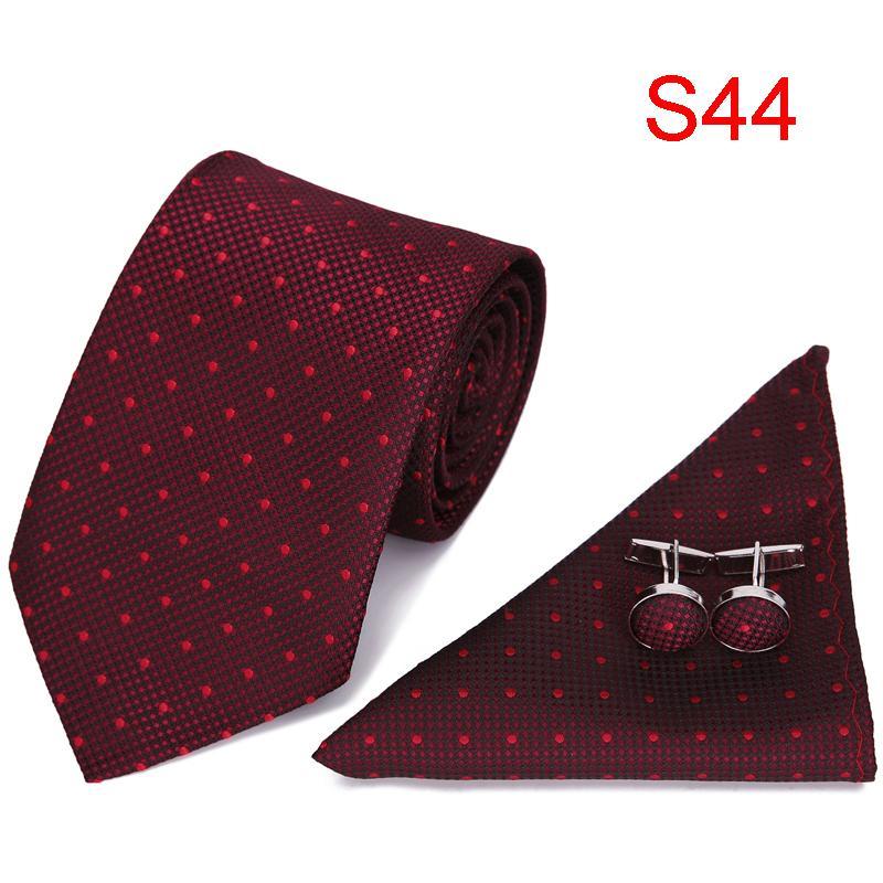 3ae053cb7a2d Men Tie Necktie Pocket Square Paisley Striped Silk Woven Wedding Classic  Party Wedding Men'S Fashion Handkerchief Set Wedding Tie Purple Ties From  Fragmentt ...