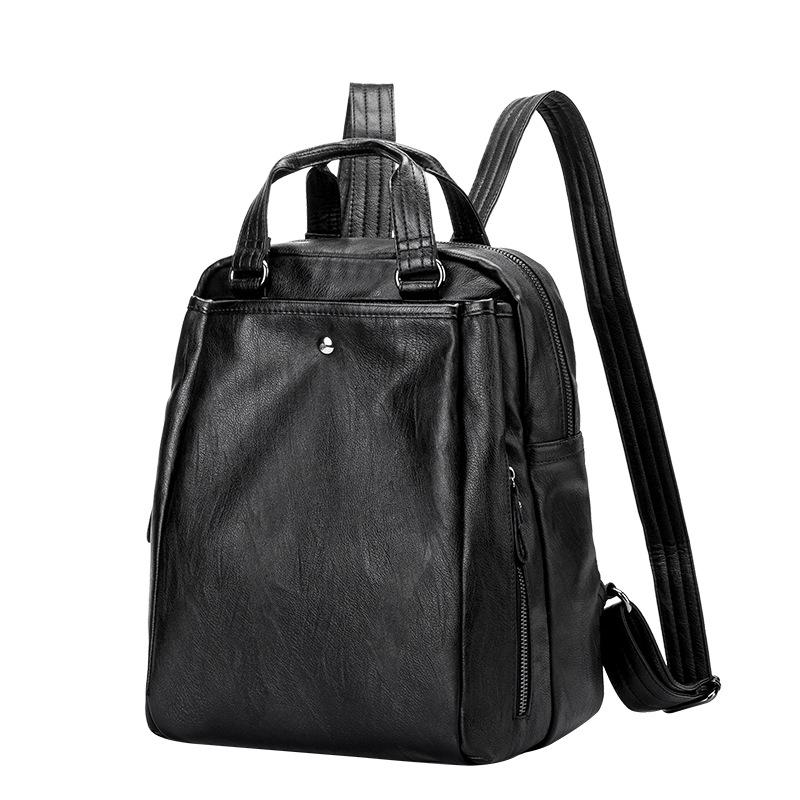 d0b018630c Backpack Women Genuine Leather Backpack School Bags Lady Fashion Travel Shoulder  Bag Designer Backpacks For Teenage Girls C477 Dog Backpack Backpacks For ...