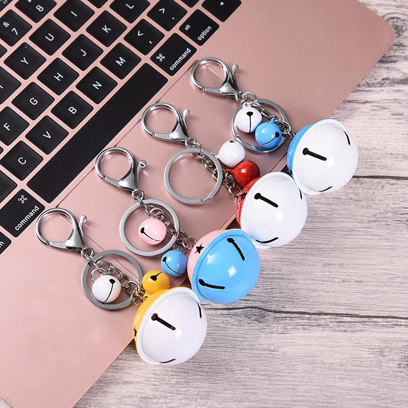 Anti-theft bell hanging accessories Designer Birthday Gifts Key Chain Fashion Keyrings Designer Car Keychains Accessories Valentine's Gifts