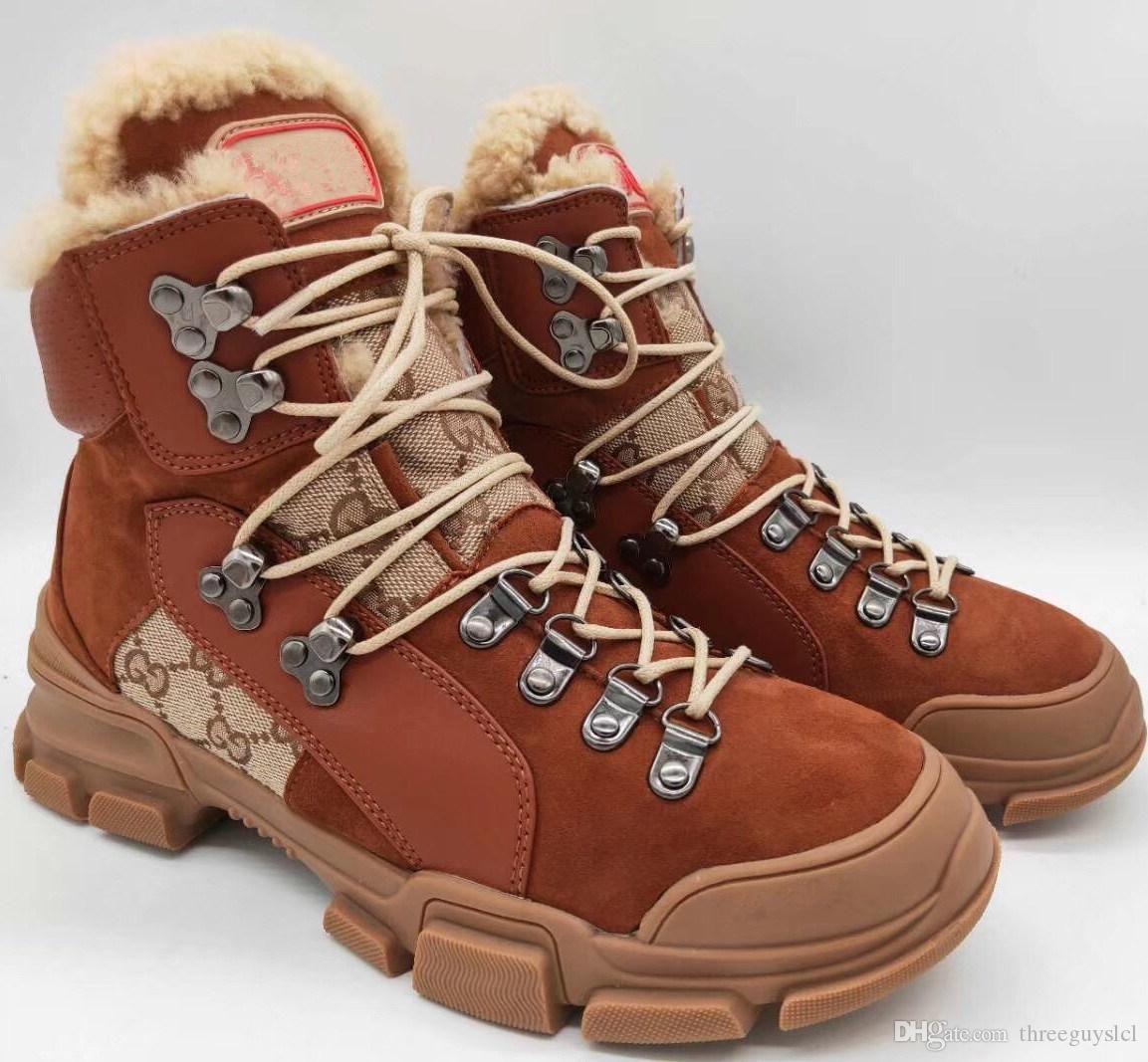 Acquista Flashtrek High Top Sneaker Mens Luxury Brand Designer Scarpe Da  Donna In Pelle Da Montagna Arrampicata Da Trekking Stivali Di Alta Qualità  Moda ... 9ec92bef6e5