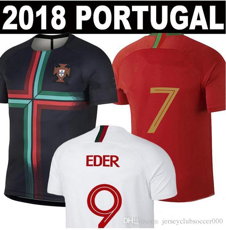 Compre 2018 2019 Camisa De Futebol Da Copa Do Mundo 18 19 ANDRE SILVA  QUARESMA PEPE J.MARIO J. MOTINHO Camisa De Futebol Homem E Mulher Camisa De  Treino De ... 721273fdbdc8a