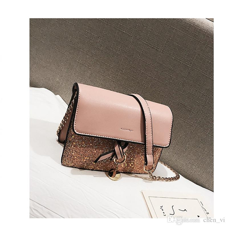 a552a8f89ed4 Korean Style Female New Style Wild Messenger Bag Khaki - Daftar ...