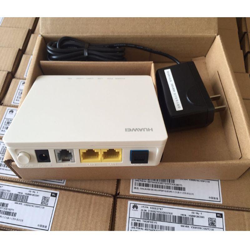 1pcs Hua Wei HG8120C GPON ONU ONT Router 1GE 1FE 1POTS HGU terminal FTTH  fiber modem HG8120C Viop TEL GPON ONU