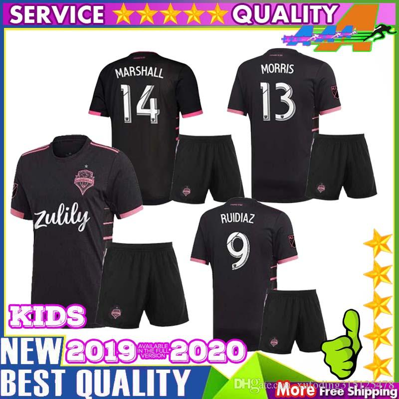 buy popular 5fd37 52df7 2019 2020 Seattle Sounders FC KIDS AWAY Soccer Jersey 19 20 MLS RUIDIAZ  MORRIS LODEIRO MARSHALL Seattle Sounders Football Shirt