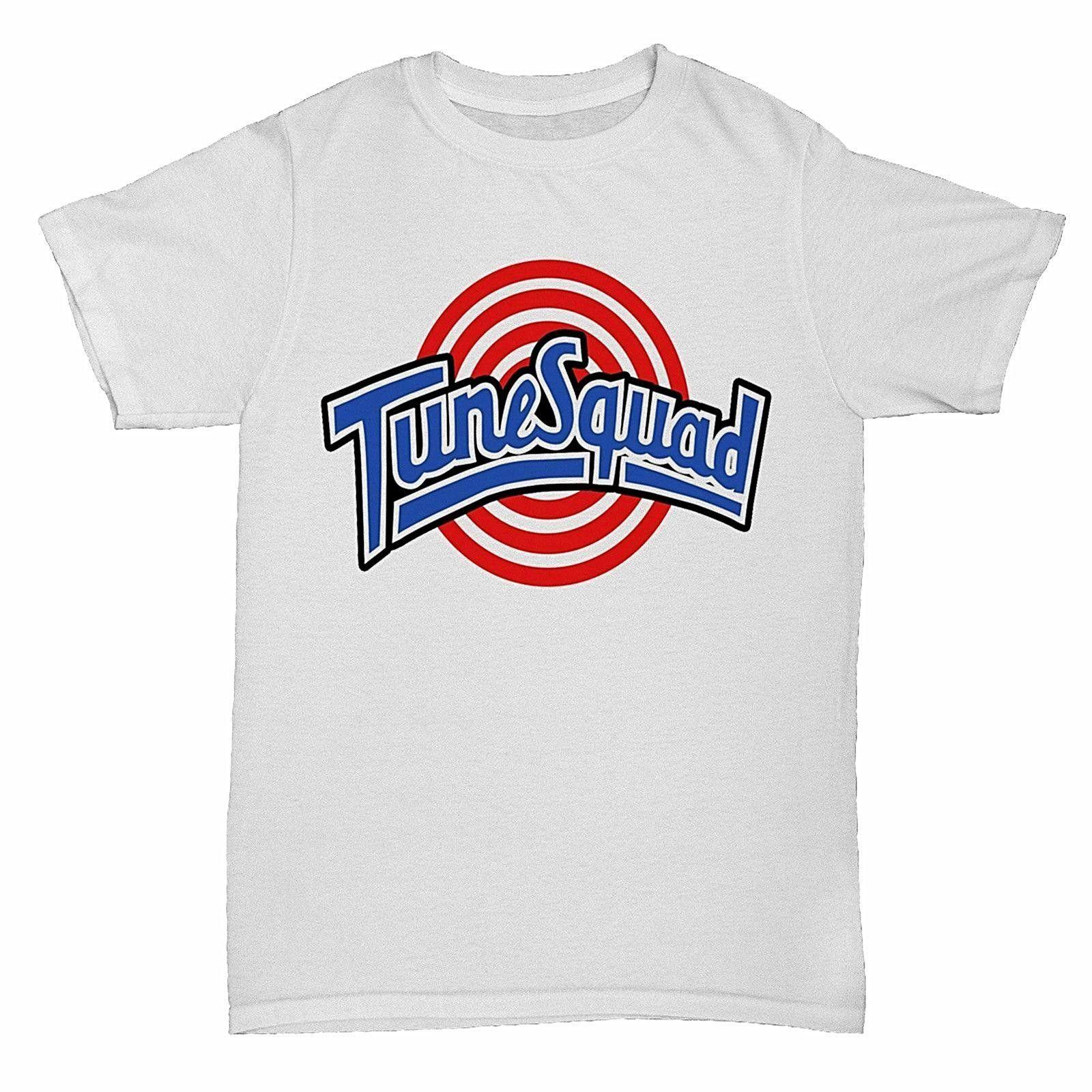 ceca78d56 Compre SPACE JAM Tune Squad T Shirt Camiseta Personalizada Logo Texto Foto  Para Mujer T Shirt Hombre Camiseta Hombre Roca Unisex Camiseta Moda Fresca  A ...