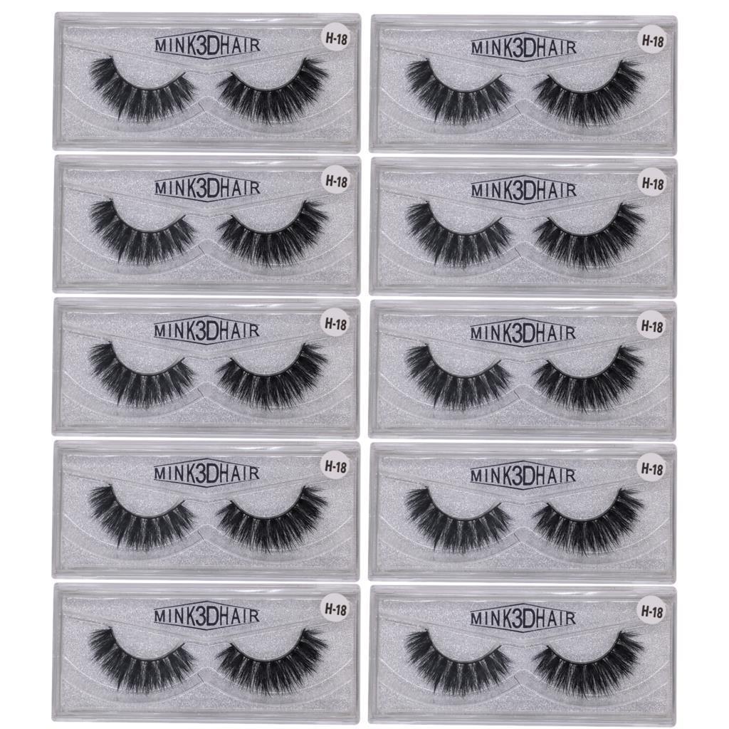 3c430a5f1f2 3D Eyelashes Hand Made Natural Long Faux Mink Lashes Vegan Cruelty Free  False Lashes Extensions Maquiagem Makeup Eyelash Extension Kits Eyelash  Extension ...