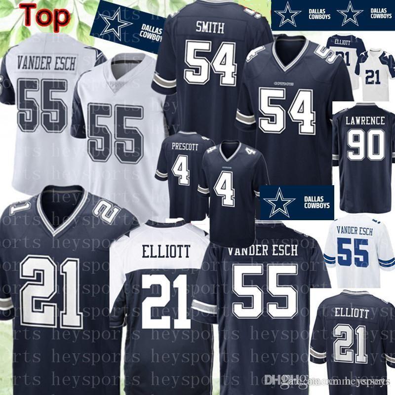 21 Ezekiel Elliott Dallas Cowboys Jersey 19 Amari Cooper 55 Leighton ... 133212b5d