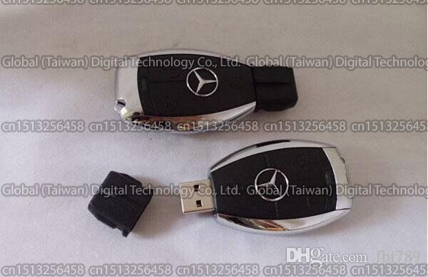 New Mercedes Benz Key Flash Drive USB 2.0 Storage Memory