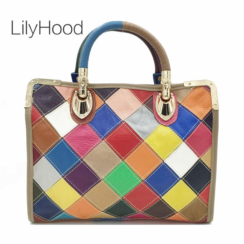 d31d6f8782 Lady Genuine Leather Handbag Fahsion Designer Top Handle Bag 2019 Female Real  Leather High Quality Crossbody Bag For Women Bags For Sale Handmade Leather  ...