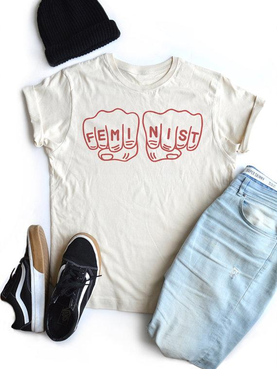Feminist T Shirt Girl Power Women Fashion 90s Tees Human Rights Summer  Cotton Popular Tops Grunge Aesthetic Goth Quote T Shirt Y190123 All Shirts  Ridiculous ... bcfa37f17081