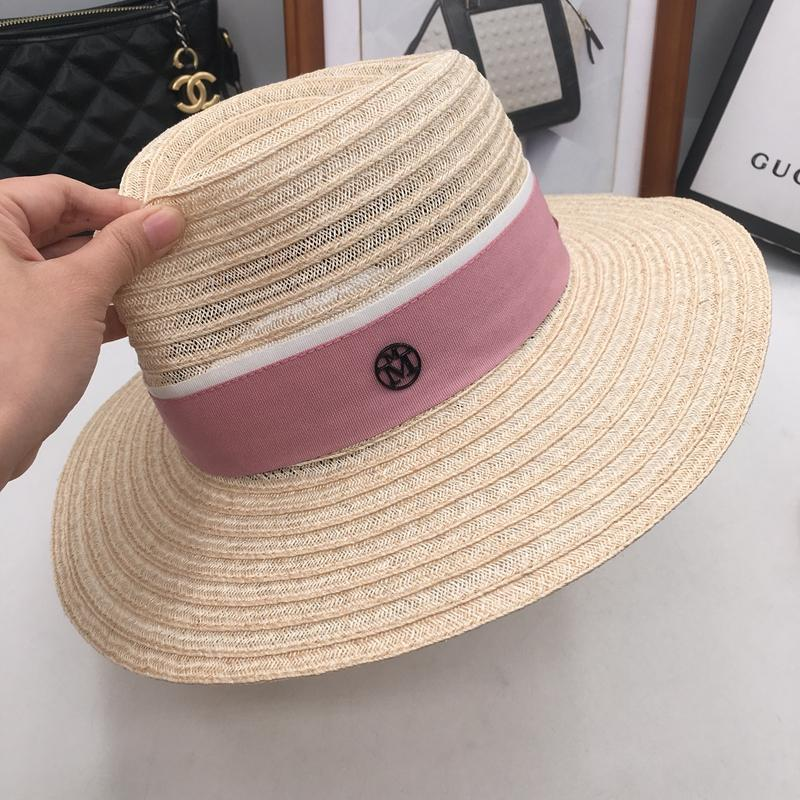 b16997a4300 M The Straw Hat In Summer Female Linen Panama Hat Big Along The Sun Hat  Brim Beach Outing Is Fresh In British Society Hats Bucket Hats From  Meinuo002