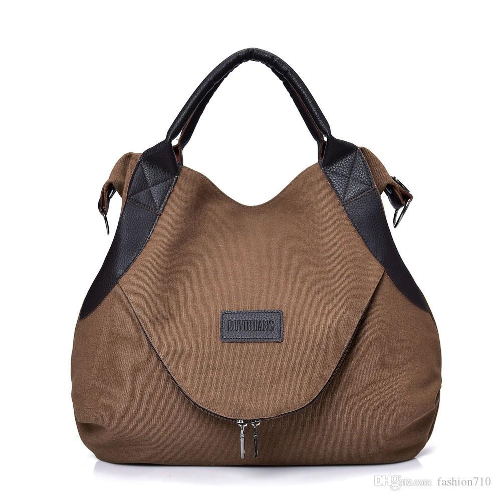 ccf230c85d006 Großhandel Einfache Frauen Tasche Große Kapazität Tasche Reise Handtaschen  Für Frauen Weibliche Handtasche Designer Umhängetasche Von Fashion710