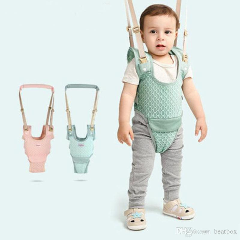 Baby Toddler Walker Stand Up Walking Wings Walk Learning Belt Helper for Infants Harness Assistant Adjustable Leashes Strap