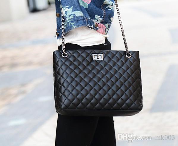 9907e38ca076 Large Shoulder Bag Travel Leather Pu Quilted Bag Female Luxury Handbags  Women Bags Designer Online with  31.14 Piece on Mk003 s Store