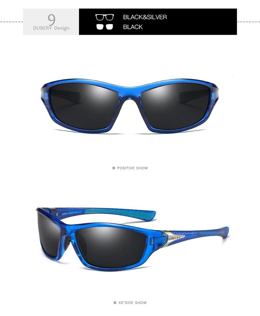 d9870fad9 DUBERY Sunglasses Men Polarized Sun Glasses Night Vision Goggles For ...