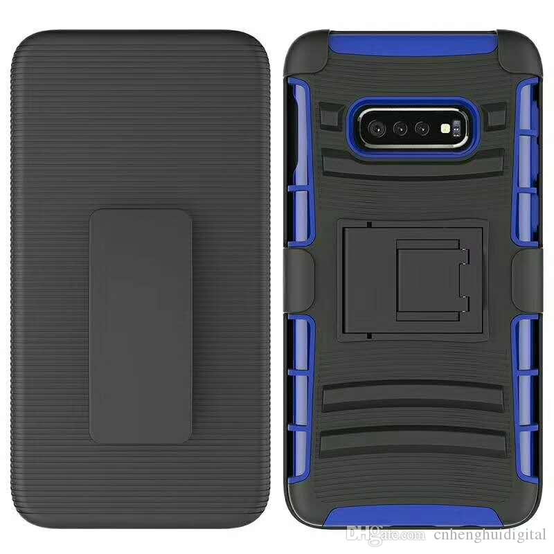 on sale e712d 8ba06 Phone case for samsung galaxy S10 S10 plus S10 lite Clip Case Kickstand  Cool Combo Holster Belt Clip Protective Defender Phone Cover