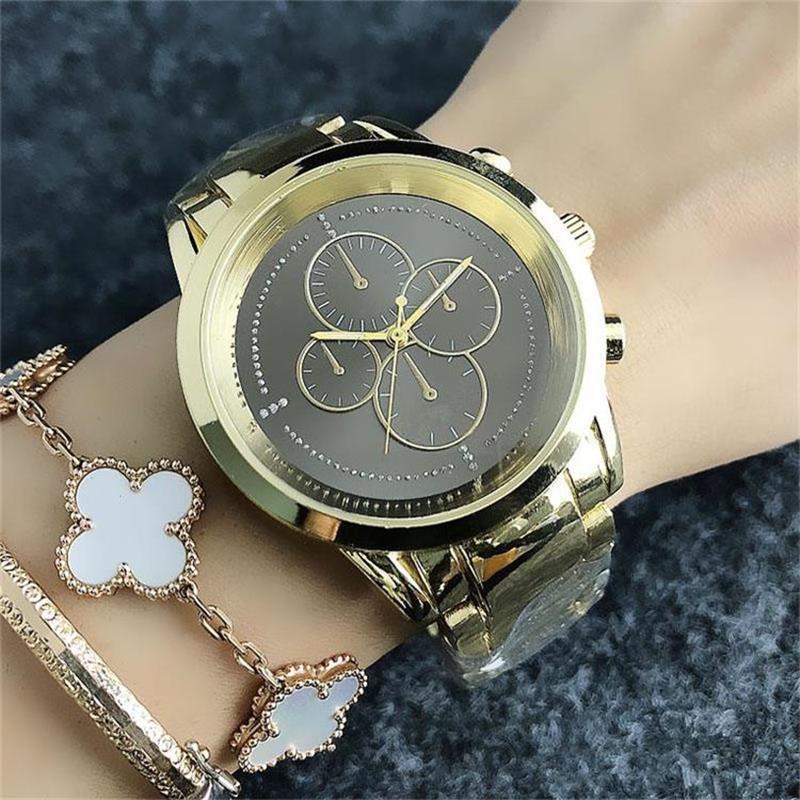 3aef6e76a063 40mm False 4 Eye Dial Design Style Men S Women S Quartz Watches High  Quality Fashion Steel Belt Quartz Watches Buy Watches Online Watchs From  Buygogo