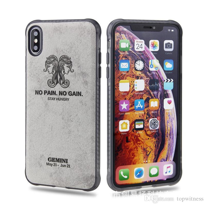 Constellation Skin Phone Case IPhone Xs Max Soft Shell VIVO X23 NEX Stickers Skin Tide Brand Tpu Oppo R17 Soft Shell