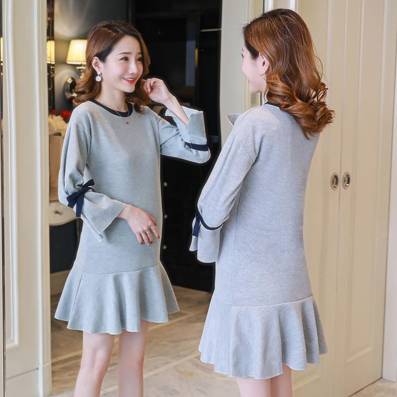 f3e230156 2019 2019 New Arrive Spring Maternity Dress Woman Casual Large Size Dresses  Pregnant Woman Maternity Clothing MD 00625 From Bosiju, $29.96 | DHgate.Com