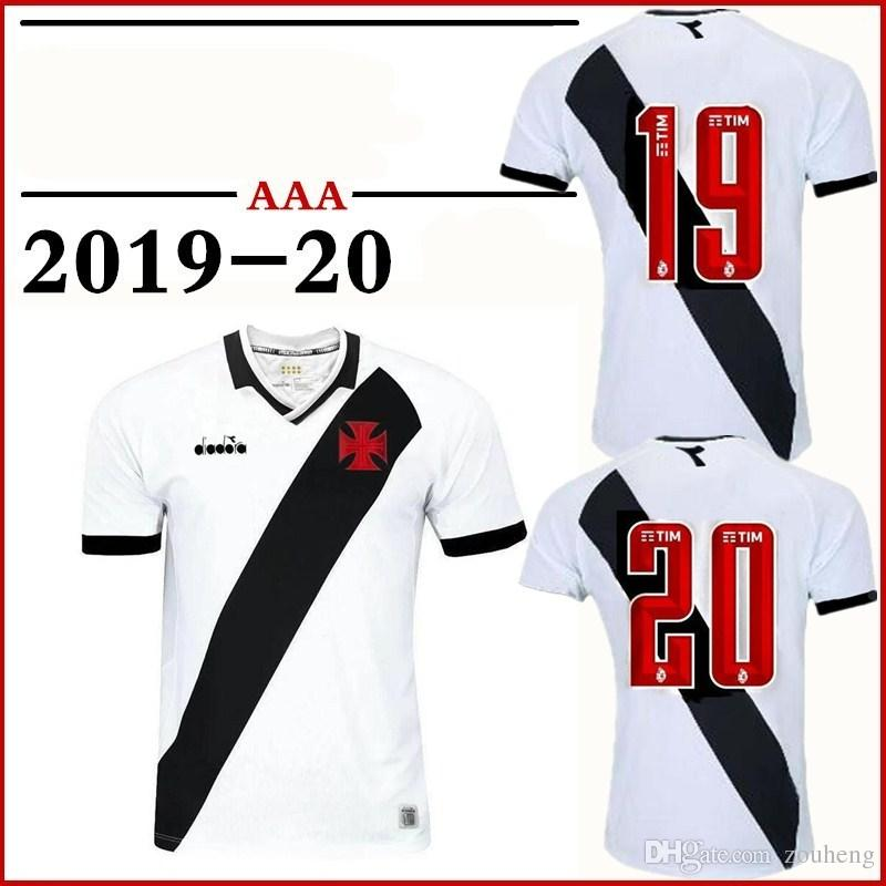 23e3f8a1d0b21 2019 Dagama Jersey Home And Away 2019 20 Black And White Short Sleeve  Football Shirt Custom Uniform Sales Football Clothing From Zouheng