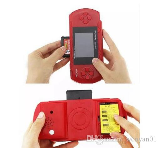 PVP3000 Game Player PVP Station Light 3000 (8 Bit) 2.7 Inch LCD Screen Handheld Video Game Player Console Mini Portable Game Box Dhl