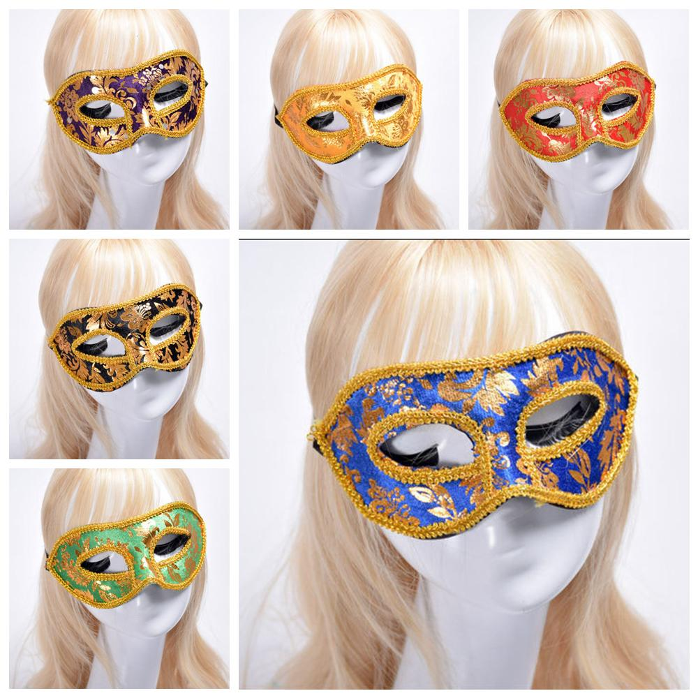 6styles Lace Carnival Dance Mask Halloween Half Face Mask Venetian Masquerade Masks Sexy Costume Party Christmas Cosplay Masks FFA2655