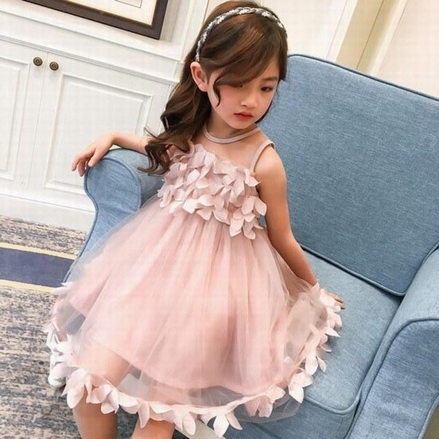 1ac192e2e762 Princess New Flower Girl Dress Party Dress Flowers Girl Ball Gown Toddler  Dress Baby Children Special Occasion Dressess Girls Clothes Girls Clothing  From ...