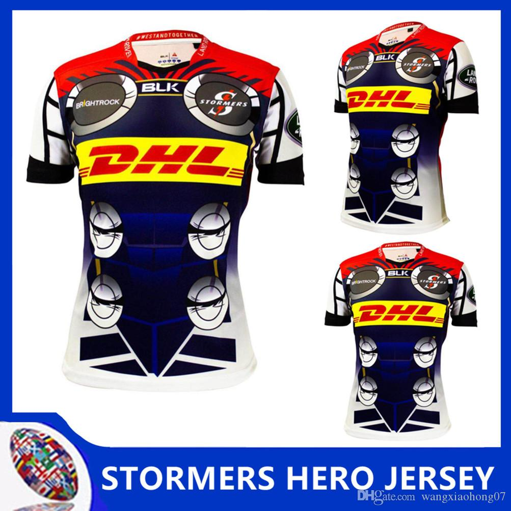 c92ebf6f685 2019 2018/19 STORMERS MEN'S HOME JERSEY Stormers 2018 SOUTH AFRICA Super  Rugby Shirt 2019 STORMERS SUPER RUGBY HERO JERSEY Size S 3XL From  Wangxiaohong07, ...