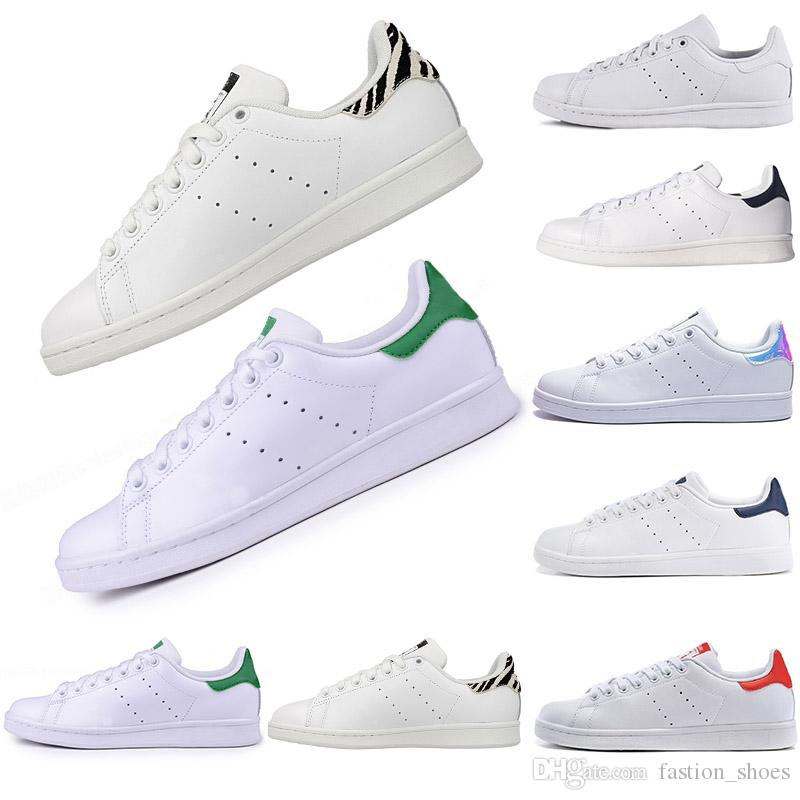 b7b490e2c3 Hot 2019 Fashion Mens Casual Shoes Superstar Smith Stan Female Flat ...