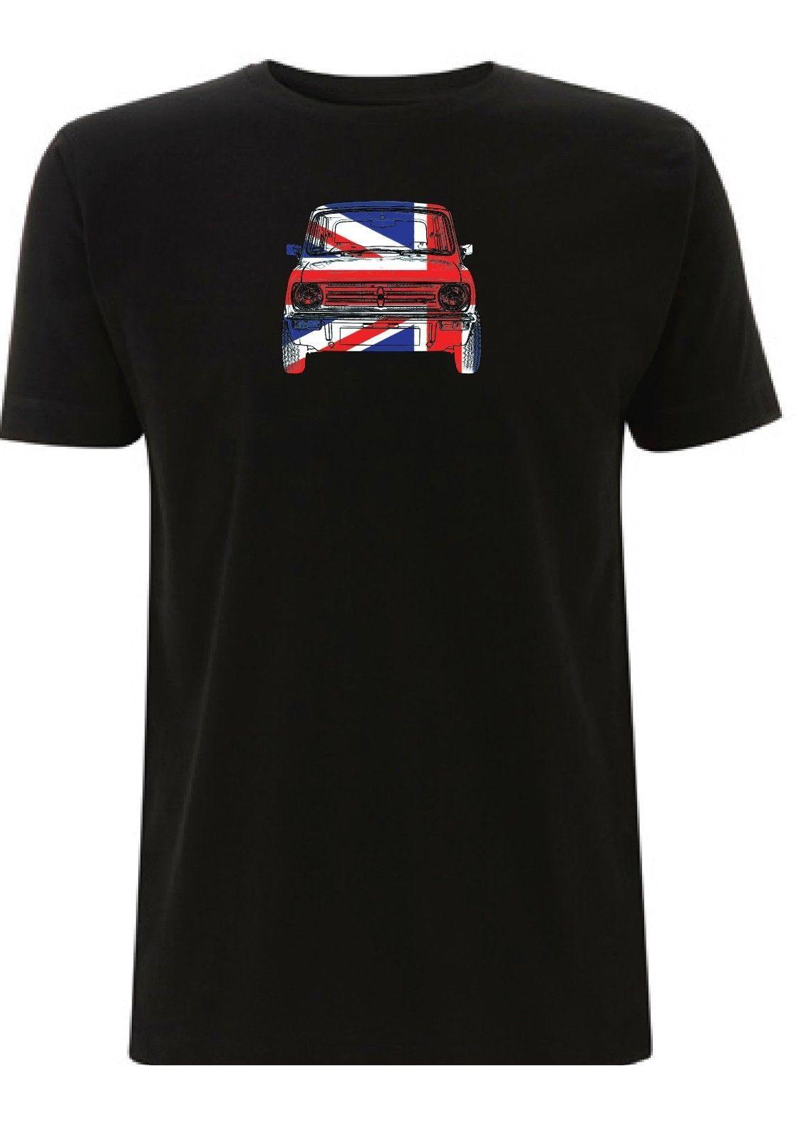 1275 Gt Mini Clubman T Shirt Union Jack British Leyland Cooper