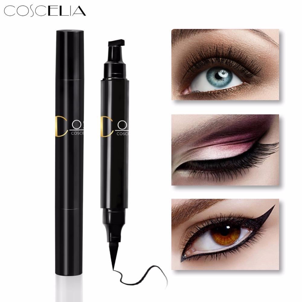 1 Pcs Double-headed Seal Black Eyeliner Triangle Seal Eyeliner 2-in-1 Waterproof Eyes Make Up With Eyeliner Pen Eye Liner Stamp Beauty Essentials Back To Search Resultsbeauty & Health